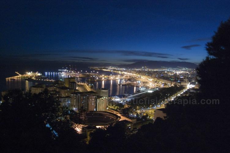 Málaga de nocturna